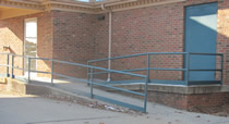 Outdoor Handicap Ramp